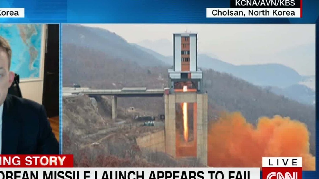 US: North Korea missile exploded 'within seconds'