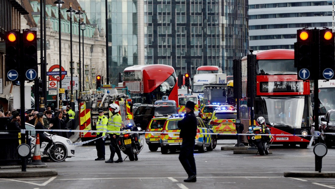 At least 3 dead amid carnage outside Parliament