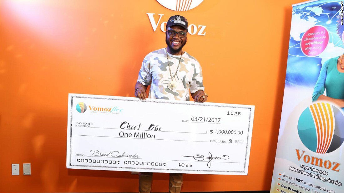 Nigerian Instagram comedian lands million dollar deal