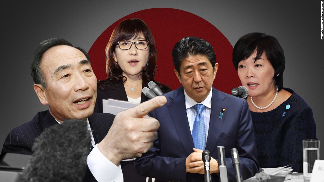 Japan PM Shinzo Abe embroiled in land-sale scandal