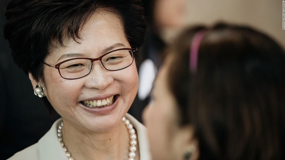Female HK leader chosen by pro-Beijing committee