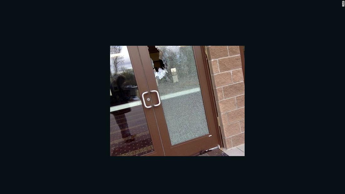 Bible and rocks thrown through doors of Colorado mosque