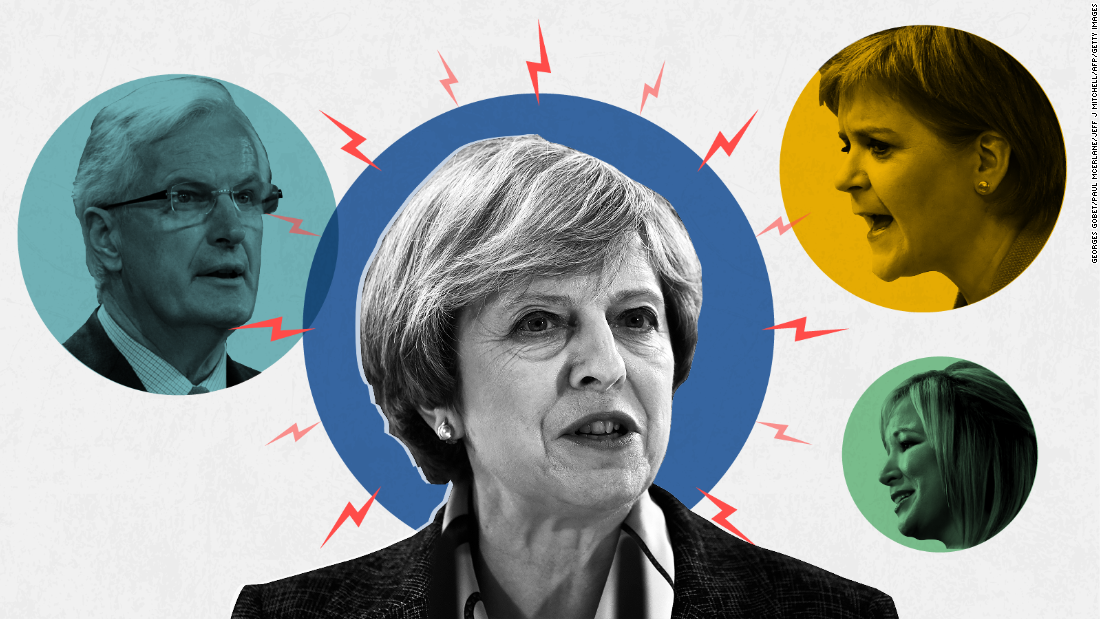 Seven days of turmoil ahead for UK PM Theresa May