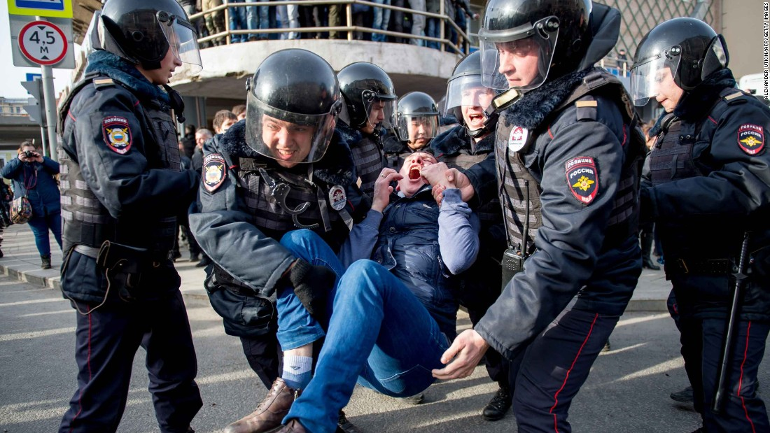 Why are Russians protesting with ducks and sneakers?