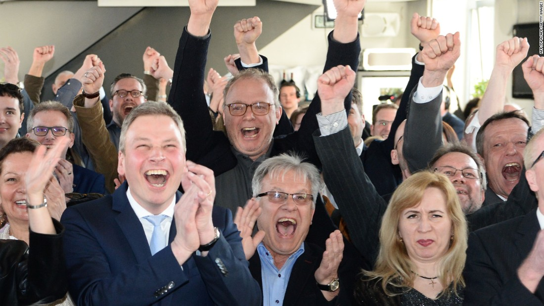 Germany: Comfortable win for Angela Merkel's party in state election
