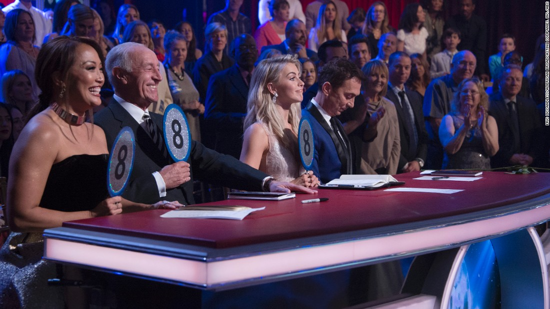 'DWTS': First couple eliminated is...
