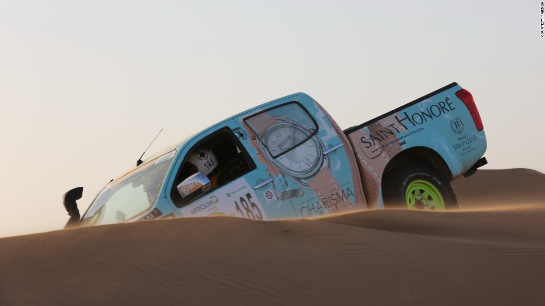 Women take on the Sahara with just a compass