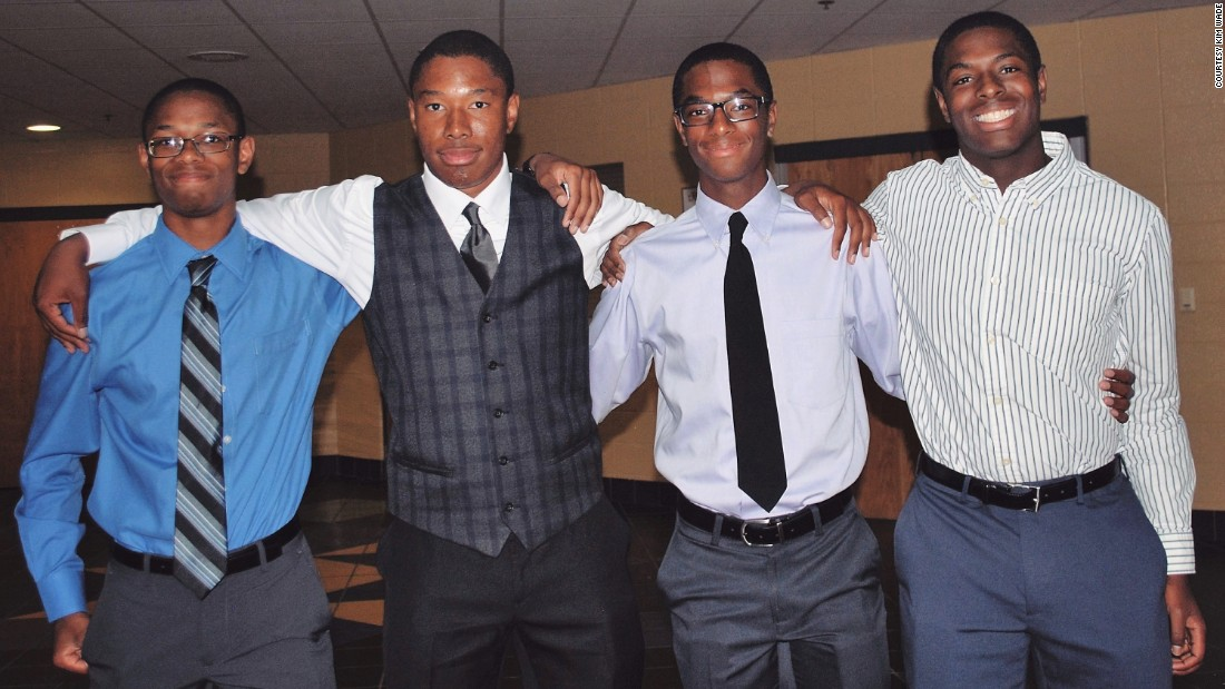 Quadruplets accepted to Harvard, Yale and Duke