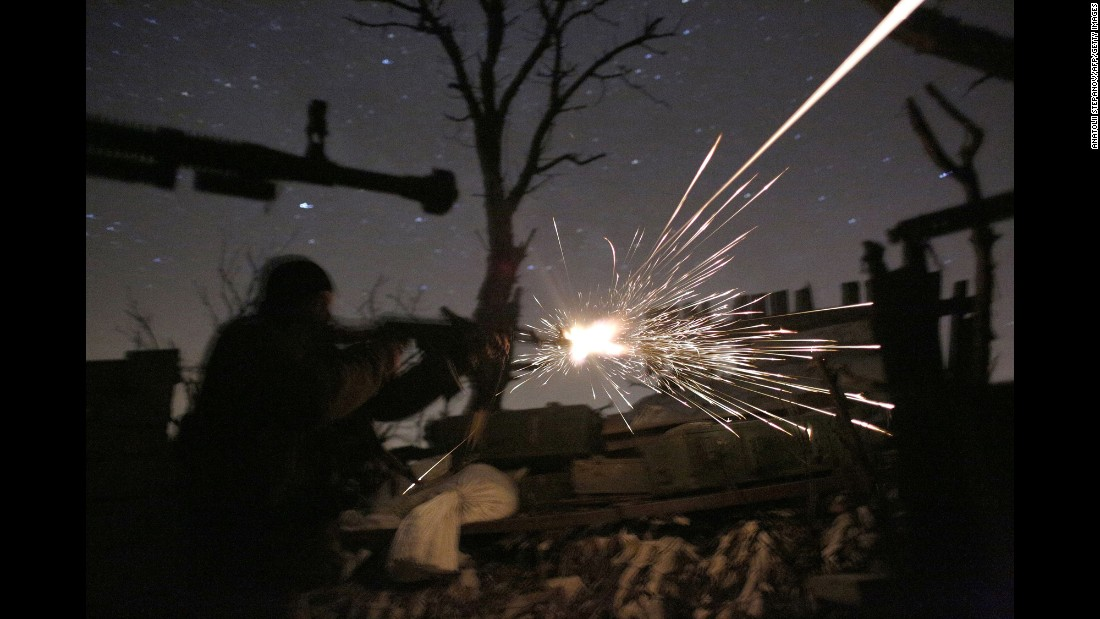 American monitor in Ukraine dies in explosion