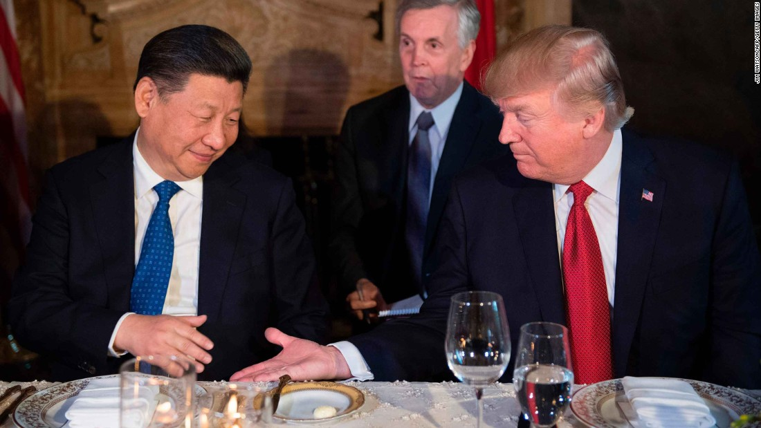 Trump to China: Thanks for trying