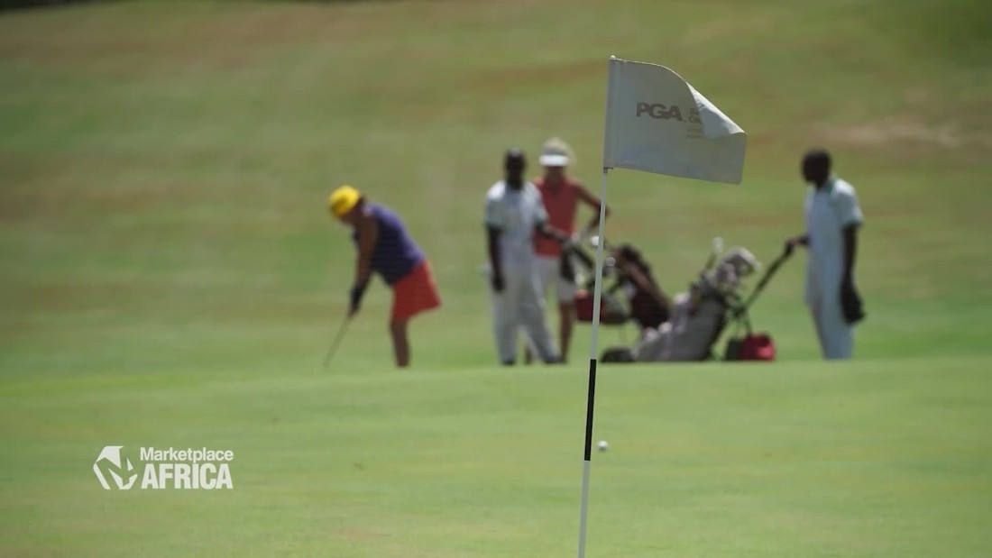 Kenya's tourism industry is banking on a golf course