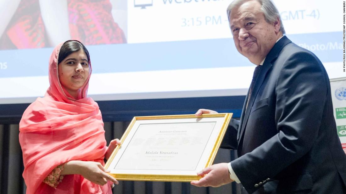 Malala made honorary Canada citizen