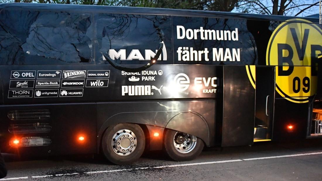 Arrest made in Borussia Dortmund bus attack