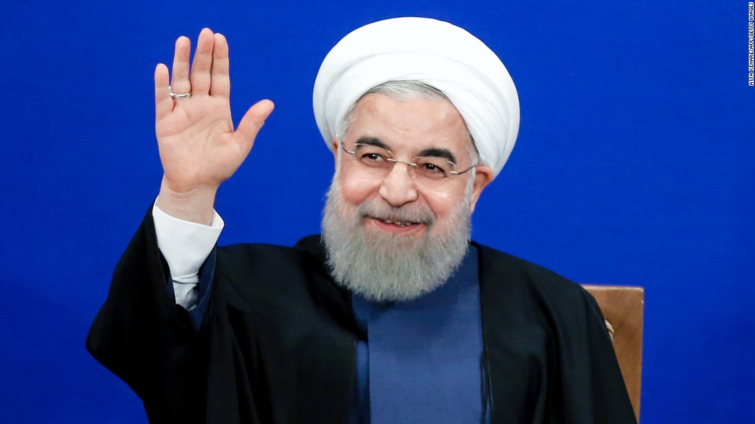 Iran's Rouhani re-elected in win for moderates