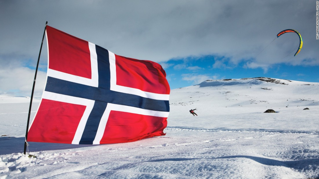 Norway's battle with the wind gods, waged upon skis