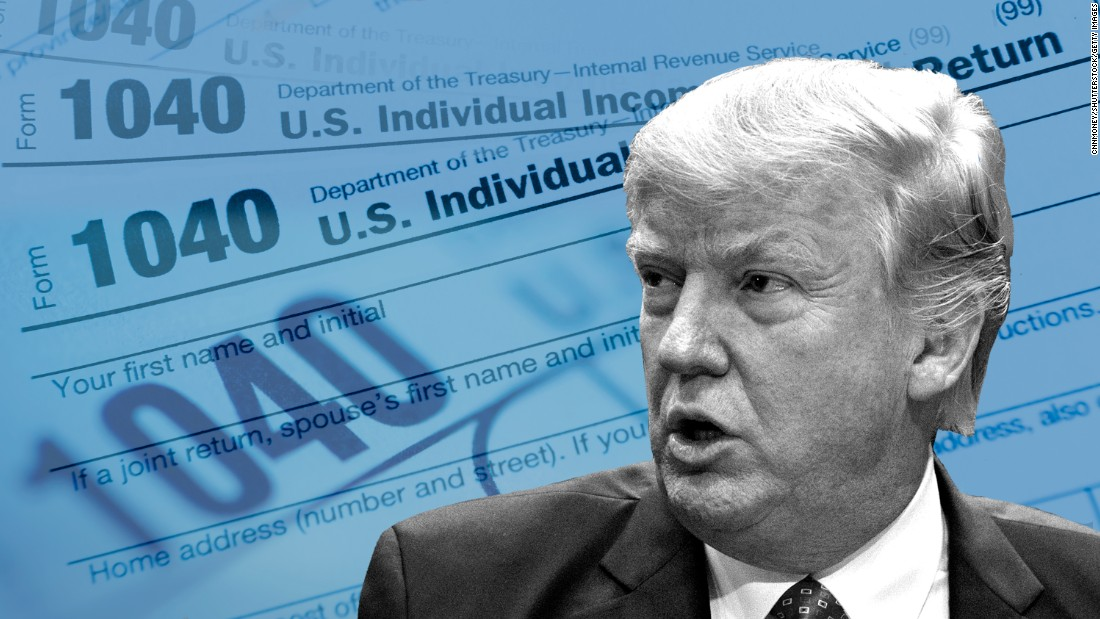 Analysis: Trump's taxes are the big story no one is talking about