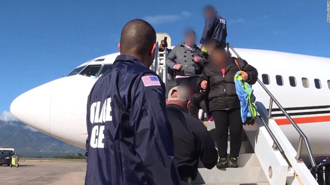 Deported: Who is the US kicking out?