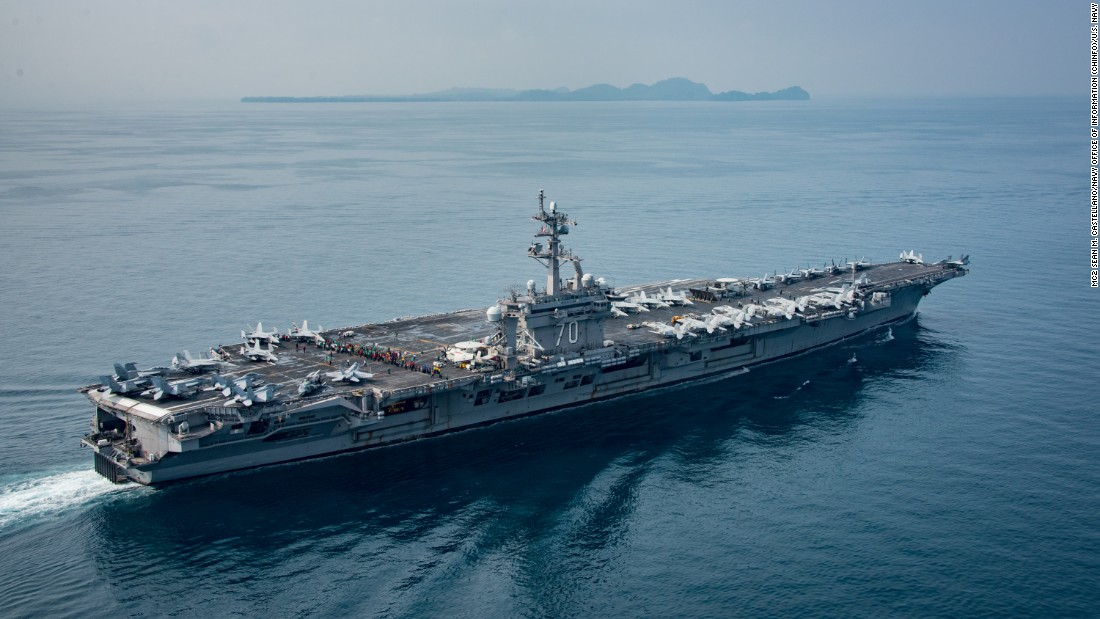 S. Korea reacts to USS Carl Vinson 'bluff'