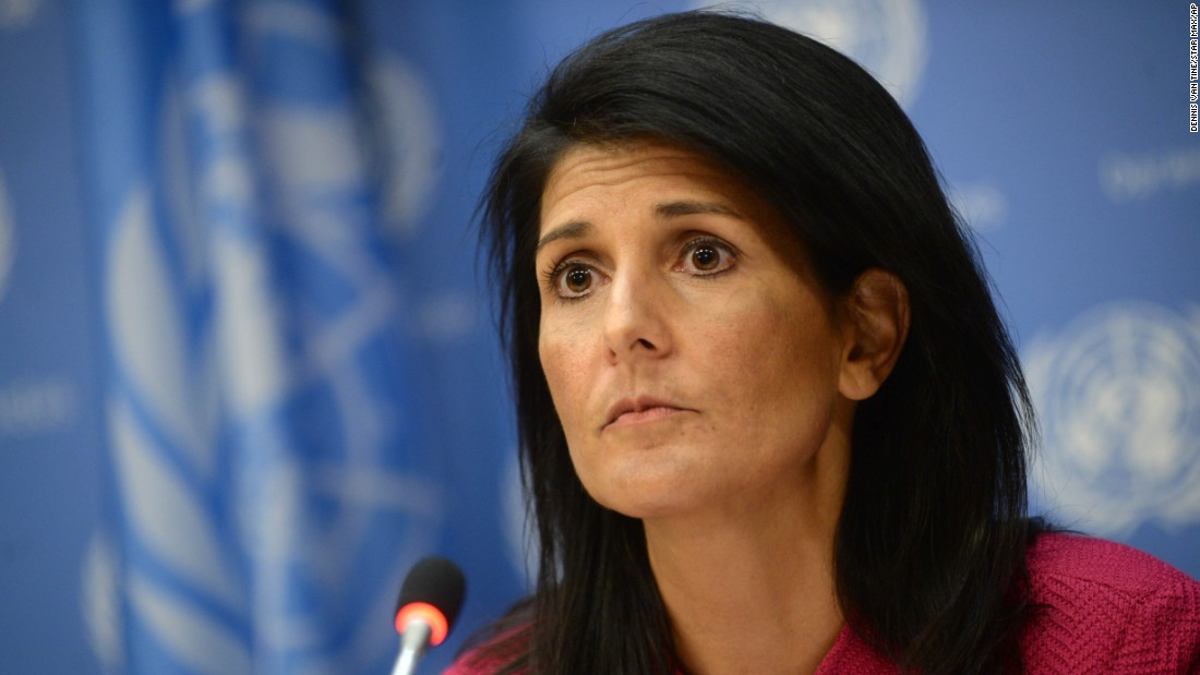 Haley: An unprecedented step on human rights