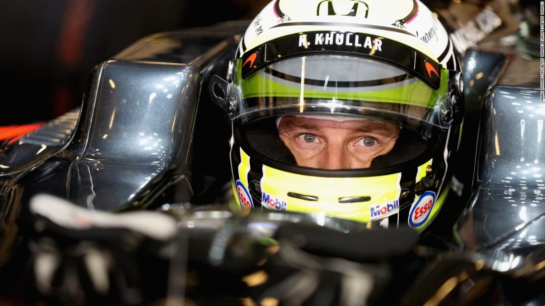 F1 stars raise money for stricken teenage racer