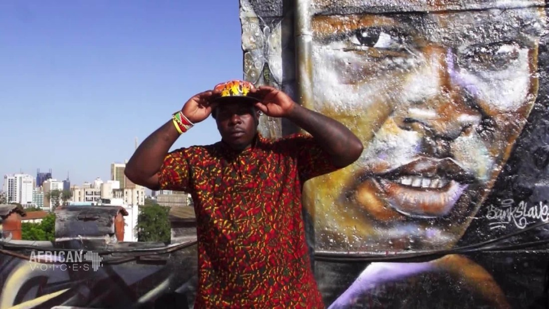 The founding father of Kenyan graffiti art