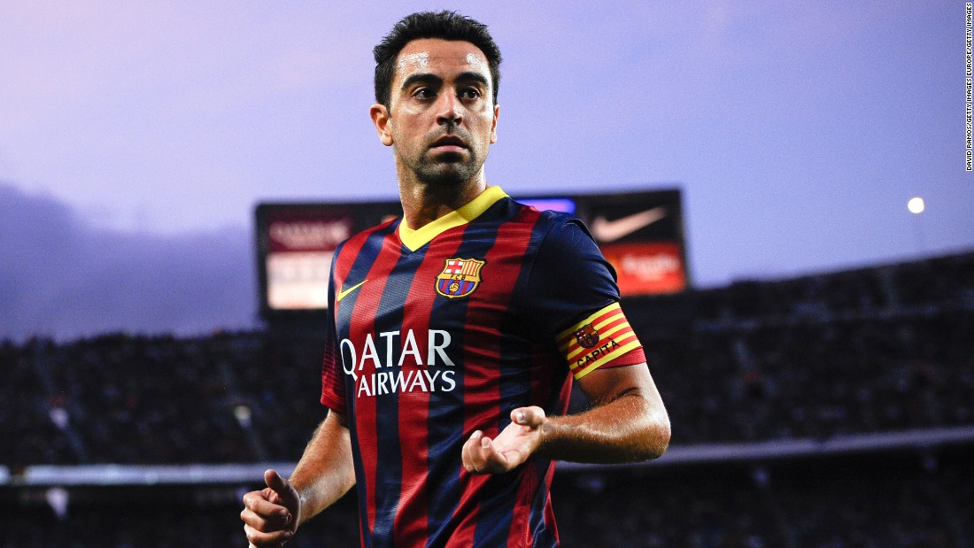 Barcelona legend Xavi reveals his 'Ultimate Player'