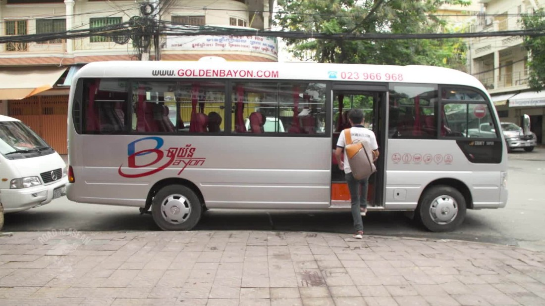 New app makes bus travel easier in Cambodia