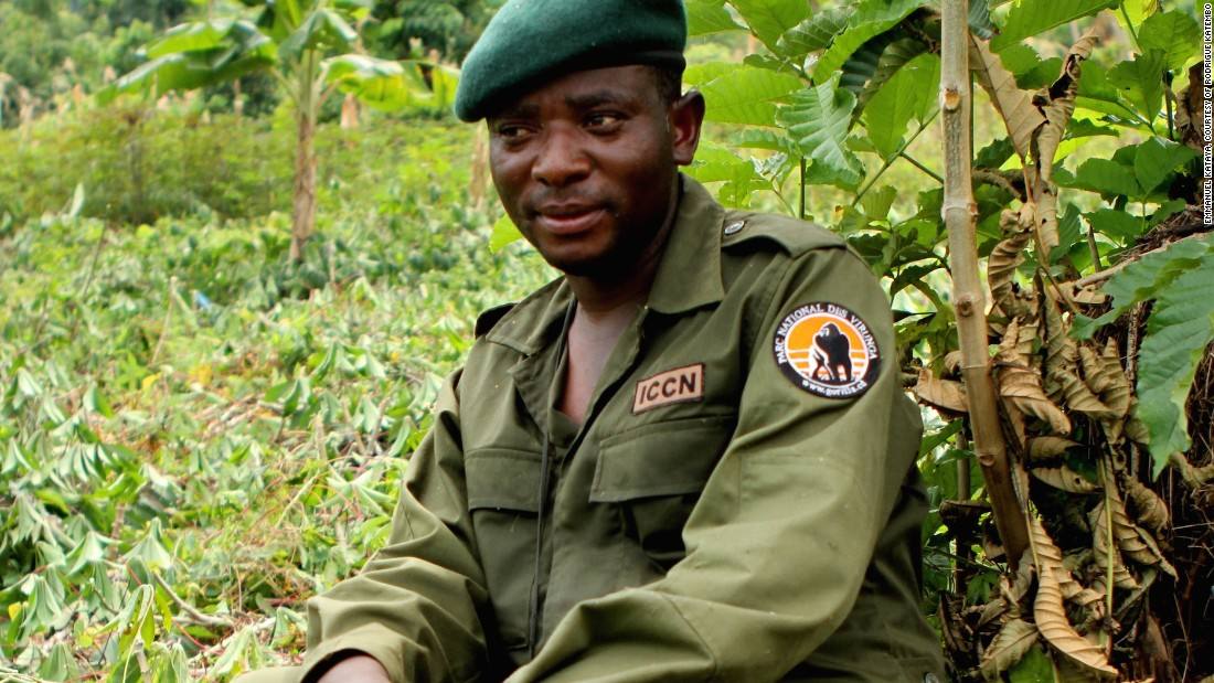 The former child soldier risking his life to protect Congo's wildlife