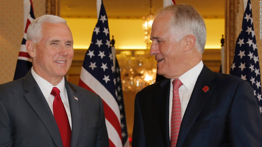 Pence: US will honor refugee deal with Australia
