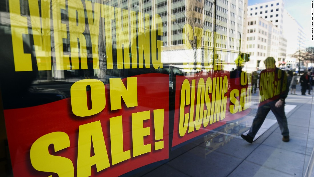 Retail sores closing at epic pace