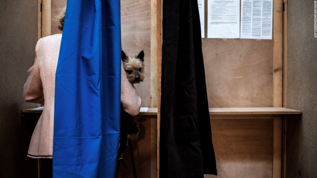 Voters go to polls in French election