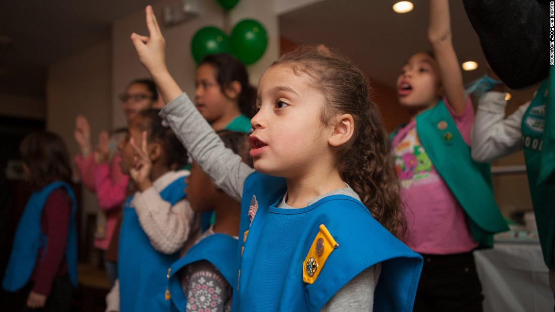 NYC's first Girl Scout troop for homeless girls