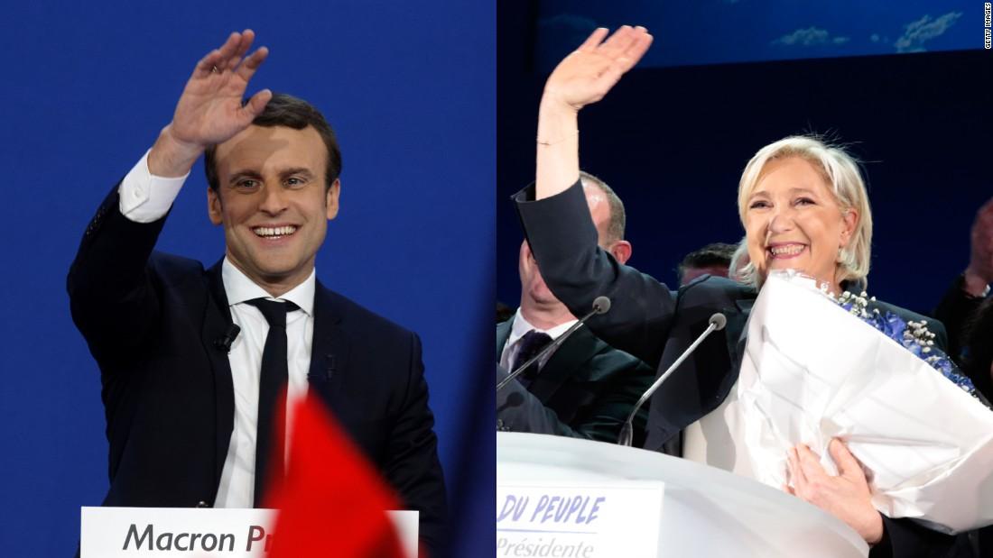French president backs Macron