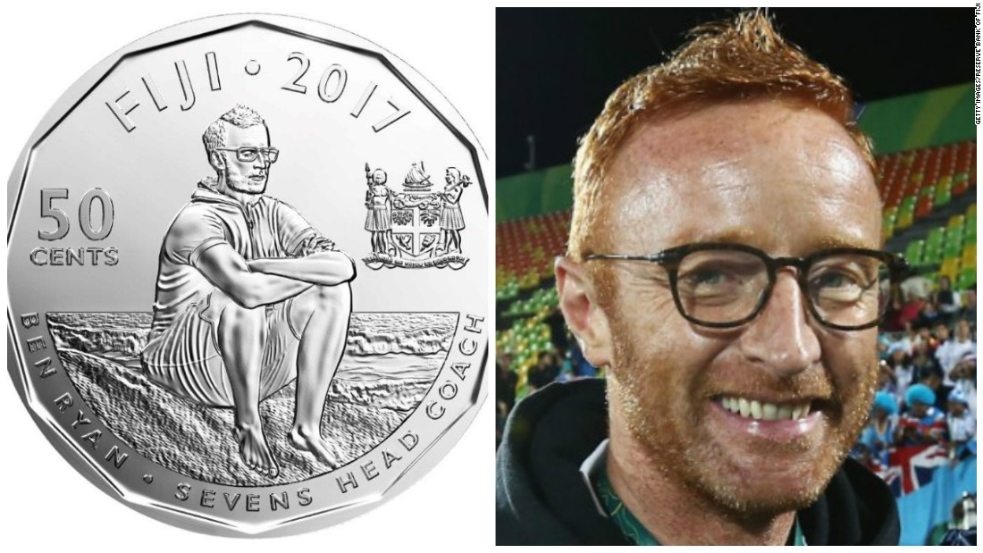 Sevens coach Ben Ryan immortalized on currency