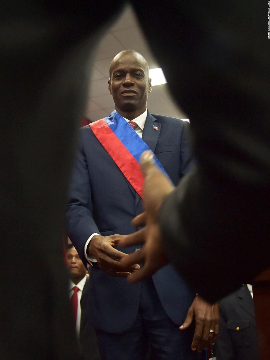 Haiti finally has a president