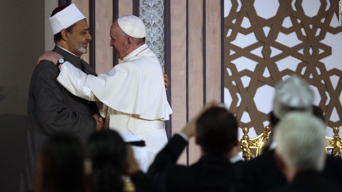 Pope Francis in Egypt: 'No to every form of violence'
