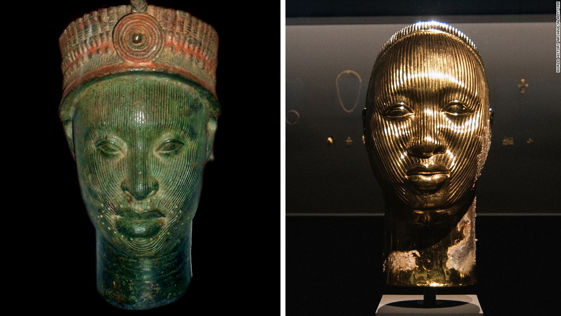 Nigerians accuse Damien Hirst of copying ancient art at Venice Biennale