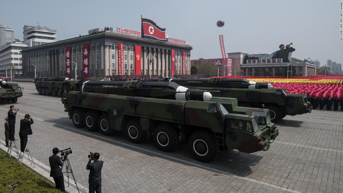 N Korea tests missile, raising new fears in Pacific