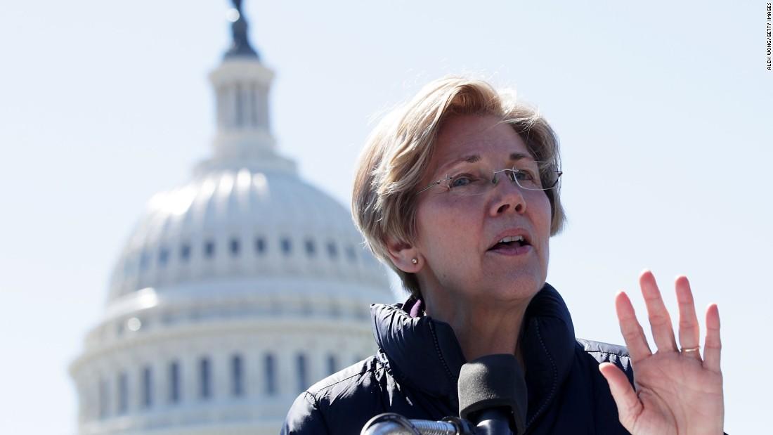 Warren urges Democrats to move leftward