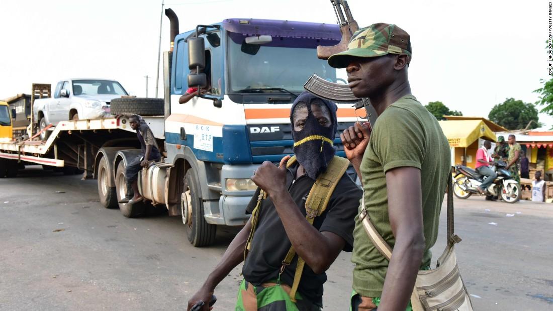 Rebel soldiers shut down Ivorian cities
