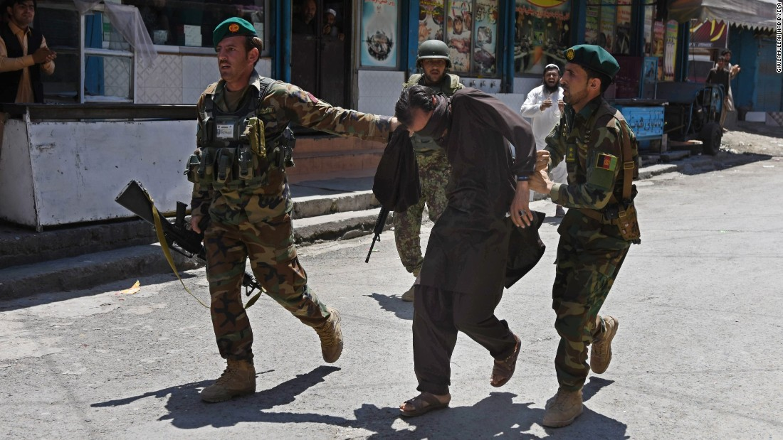 Two dead as attackers storm state TV station in Afghanistan