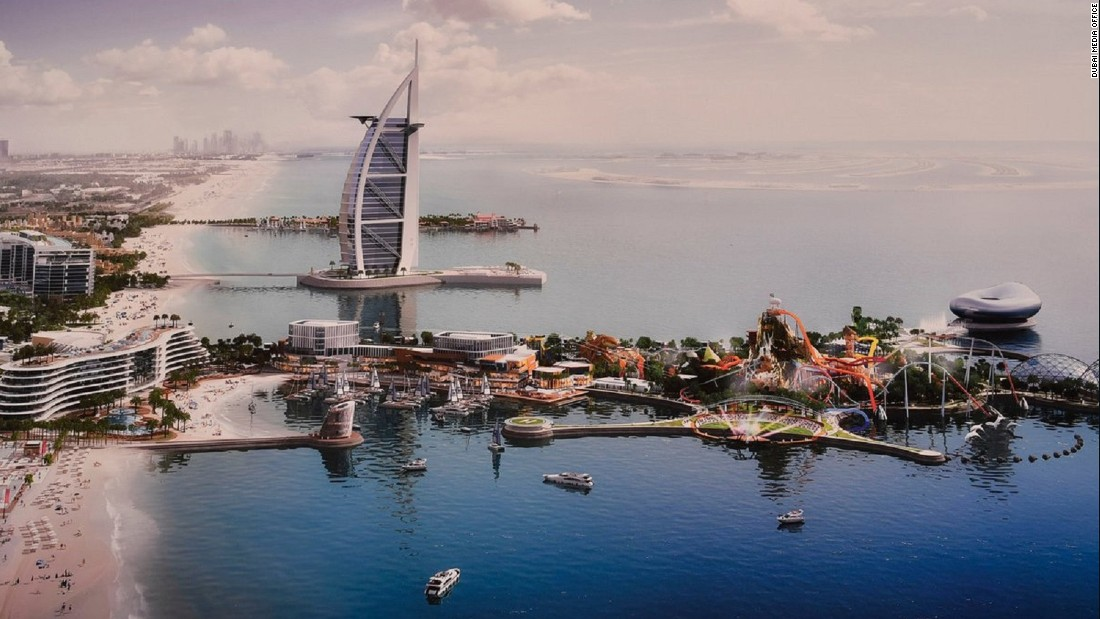New $1.7B Dubai islands