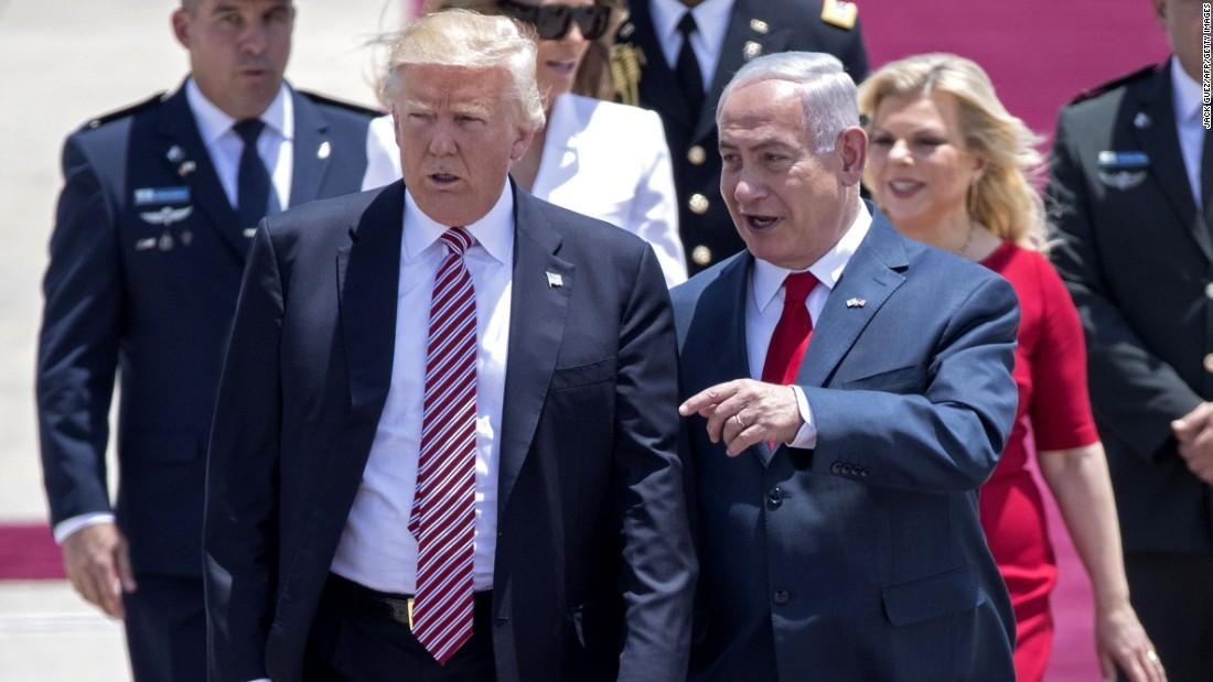 Trump sets sight on the big deal: Mideast peace