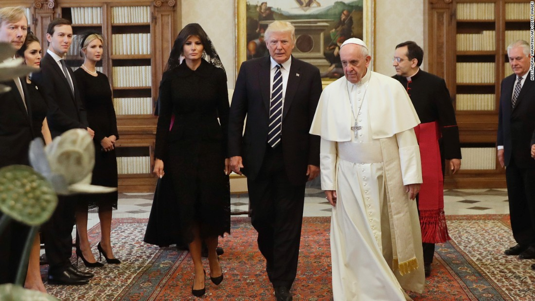 The first Catholic first lady since Jackie Kennedy