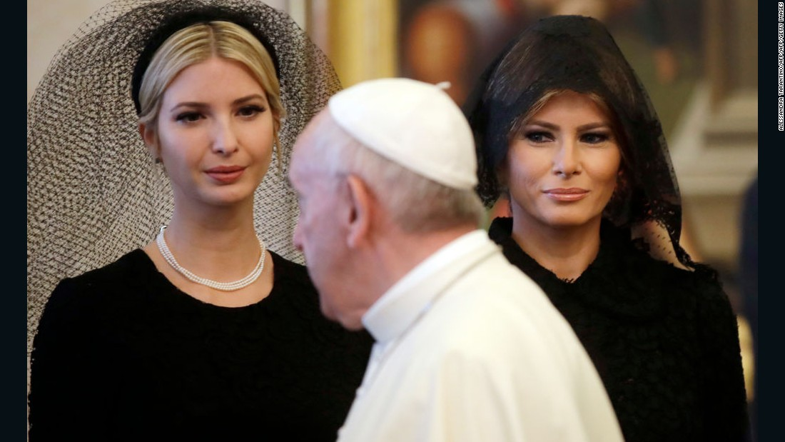 Melania: Why a veil in Rome, not Riyadh?
