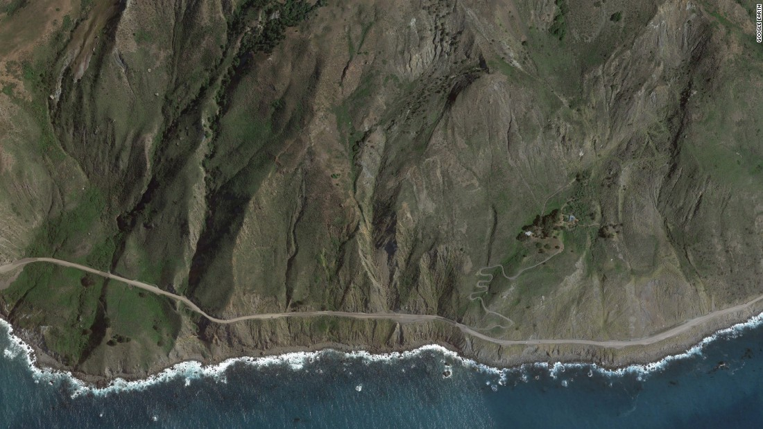 Landslide buries Californias scenic highway in Big Sur  CNN