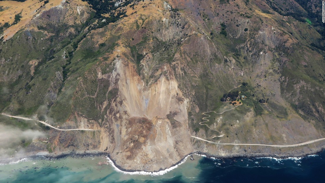 Closed At That Spot Almost Continuously Since January And At A Few Other Points Along The Dozens Of Miles Of Big Sur Coast Because Of Landslides