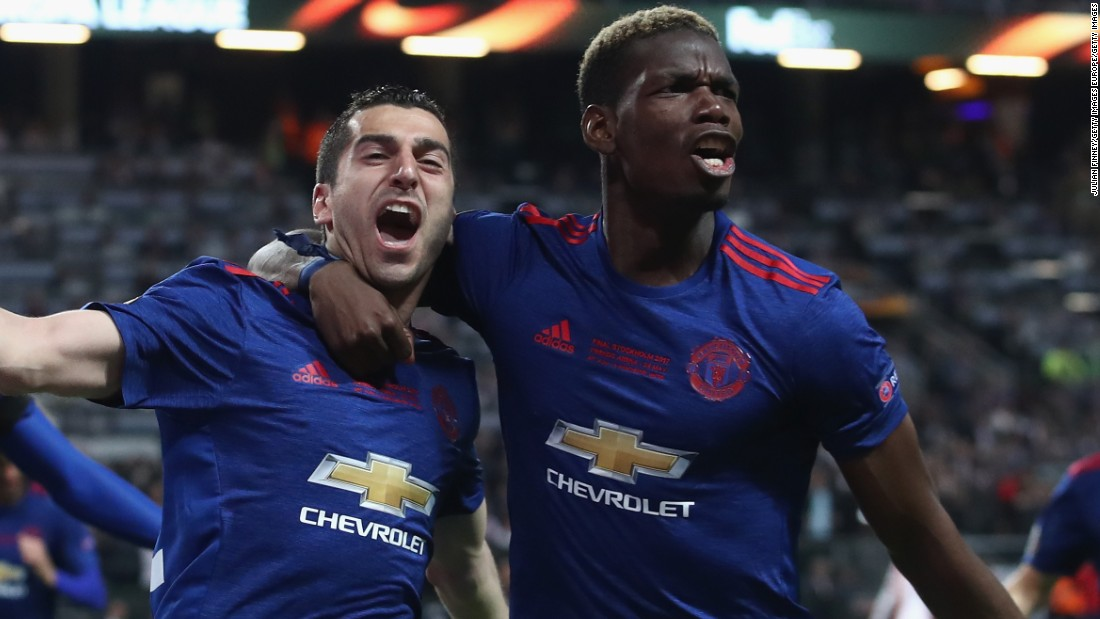 Manchester United win Europa League on emotional night following Manchester Arena bombing