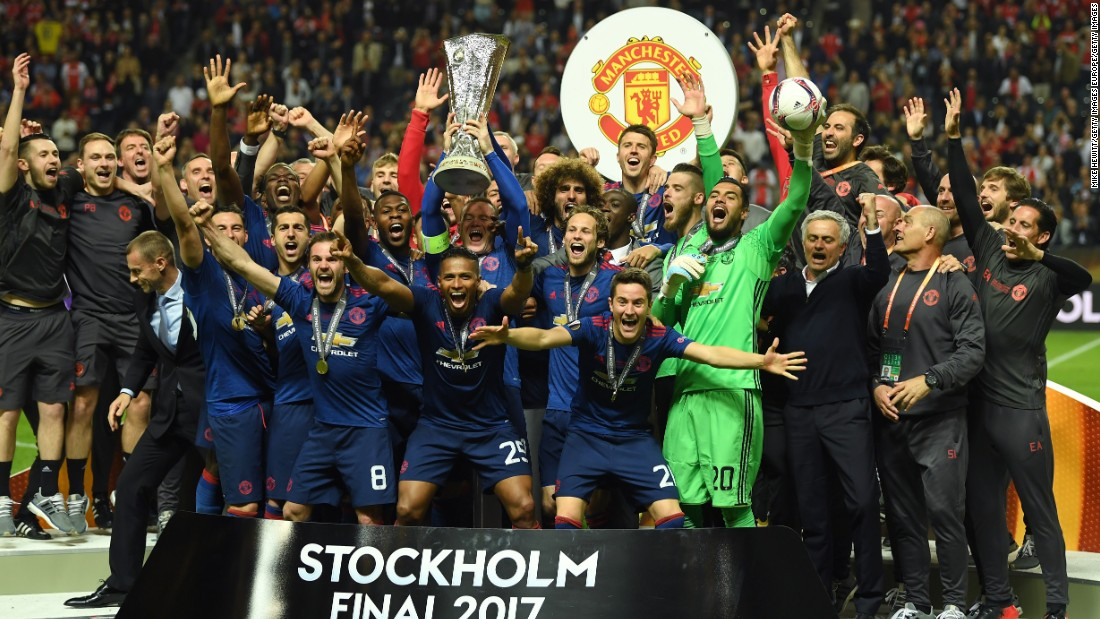 United win Europa League: