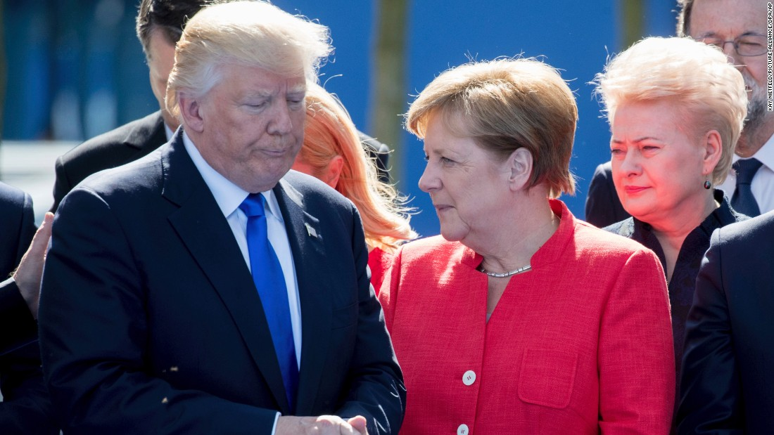 Trump attends G-7 summit